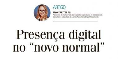 "Presença Digital no ""novo normal"""